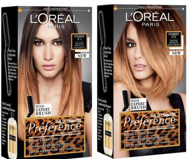 Dip Dye DIY kit review: L'oreal Wild Ombre preference and Bleach ...
