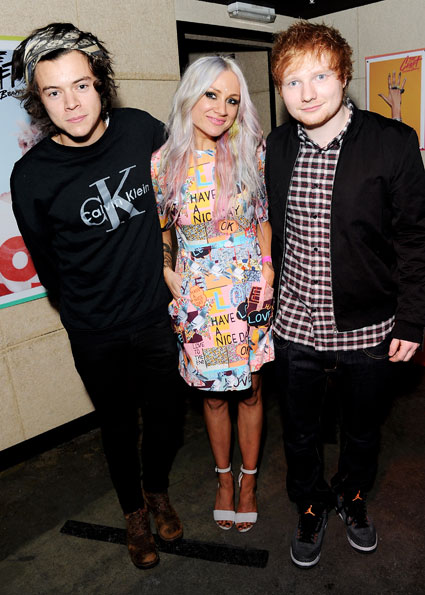 Harry Styles, Ed Sheeran and Caroline Flack party with Lou Teasdale at the launch of The Craft - Images - Sugarscape.com