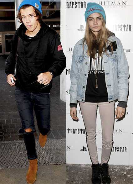 Harry and Cara