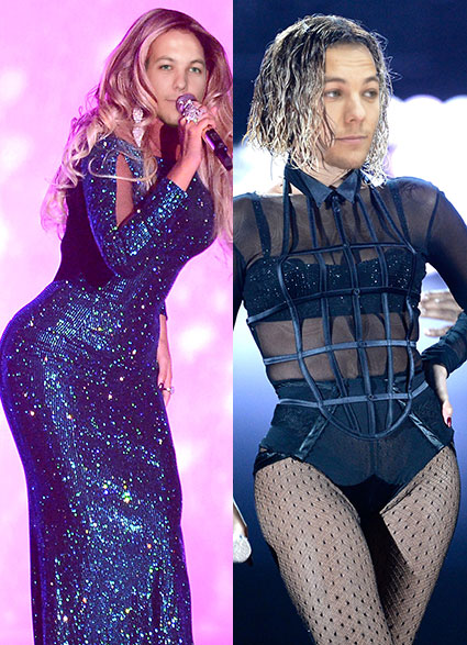 Louis and Beyonce