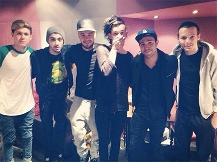 The 1975 and One Direction