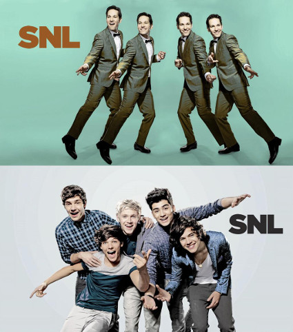 One Direction set to be musical guests on Saturday Night Live next month - Saturday Night Live images - sugarscape.com