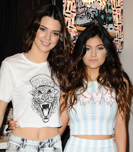 Kendall and Kylie Jenner launch their PacSun Holiday Collection. Kardashian sisters images - Sugarscape.com