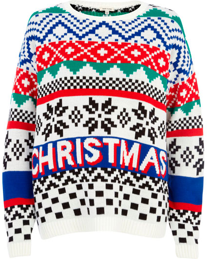Top 25 Christmas knits and jumpers for 2013: shop the trend on the high street - images - Sugarscape.com