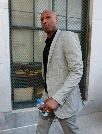 "Lamar Odom's dad: ""The Kardashians have been a curse on Lamar"" - Lamar Odom images - sugarscape.com"