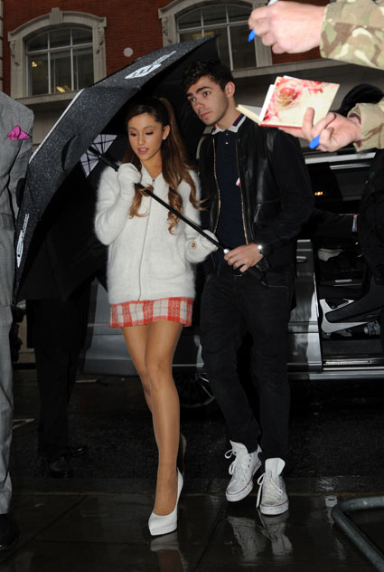 Nathan Sykes and Ariana Grande - Nathan Sykes and Ariana Grande images - sugarscape.com