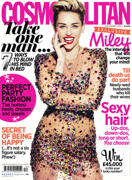 Miley Cyrus opens up about fame to Cosmopolitan. Miley Cyrus Cosmo shoot images - Sugarscape.com