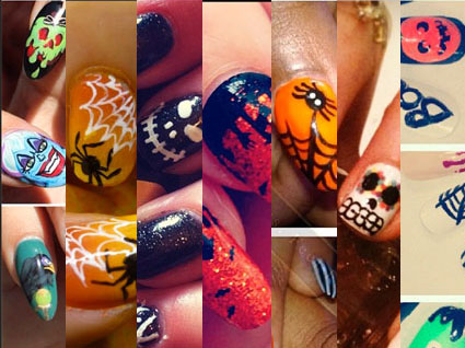 Your one stop shop for the best Halloween nail art ...