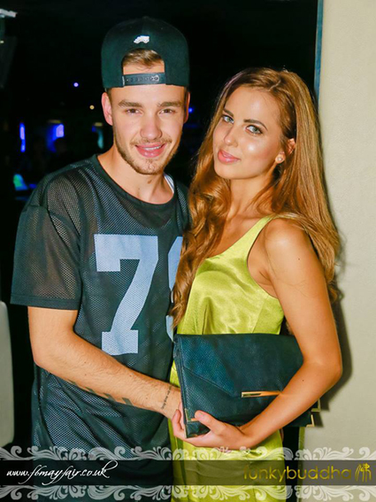 Liam Payne with attractive, Girlfriend Sophie Smith