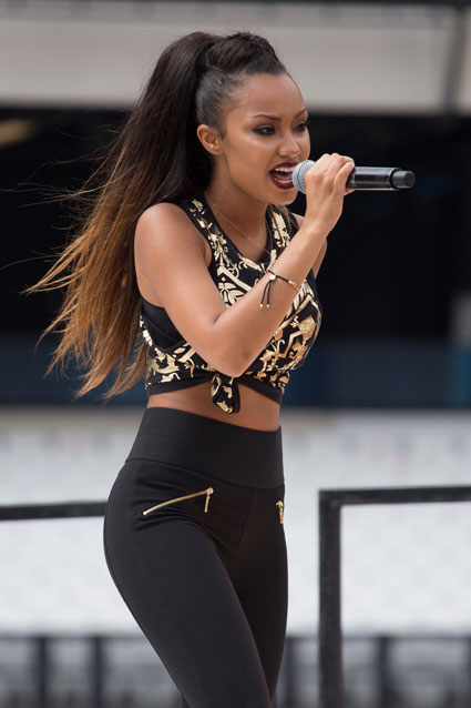 Little Mix fash off at the National Lottery Anniversary Run