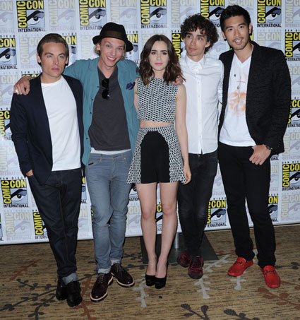 The Mortal Instruments: City of Bones cast at Comic-Con 2013
