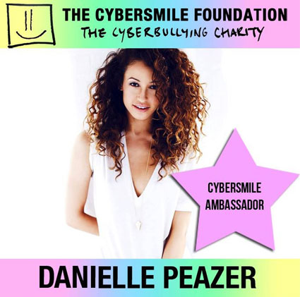 Danielle Peazer cyber bullying