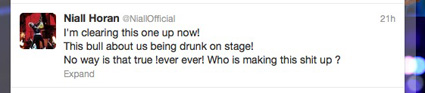 niall horan drunk tweet