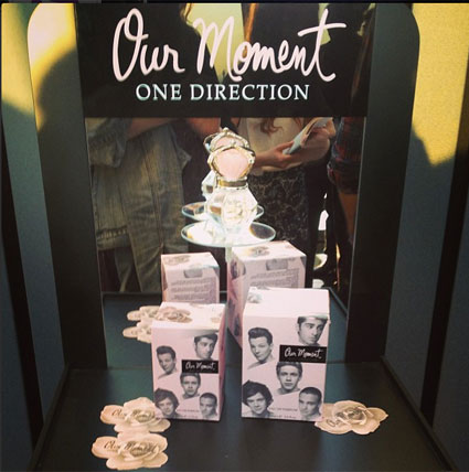 New one direction perfume Our Moment - Exclusive pics