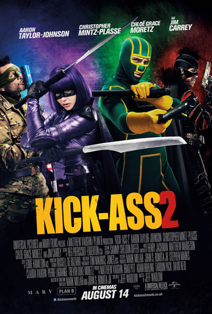 New Kick-Ass 2 trailer with Chloe Moretzeand Aaron Taylor-Johnson