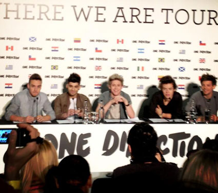 One Direction at Wembley Stadium for Where We Are Tour 2014