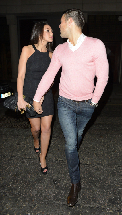 Michelle Keegan and boyfriend Mark Wright on date night in London - PICS