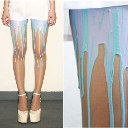 Bubblegum Melting Tights