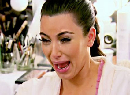 Kim Kardashians best cry faces - LOL