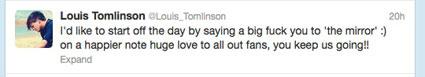 Louis Tomlinson Twitter