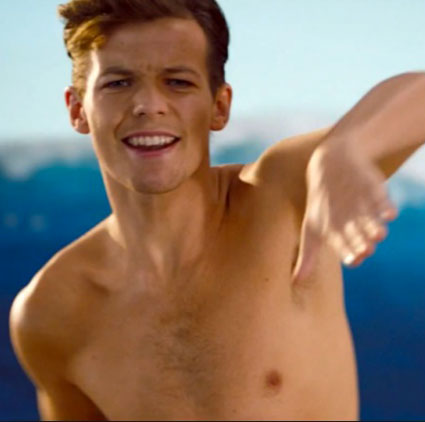 louis tomlinson topless