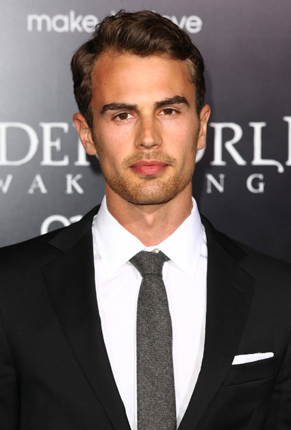 british actor theo james confirmed to play four in