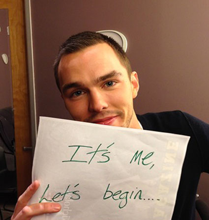 Nicholas Hoult gets a twitter account - and his first ...