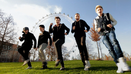 New stills from One Direction's Comic Relief video One Way or Another (Teenage Kicks) - PICS