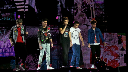 One Direction premiere Take Me Home World Tour at the O2 Arena in Greenwich - PICS