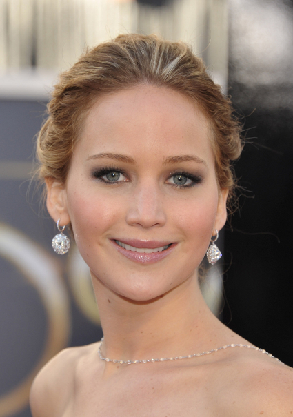Jennifer Lawrence wins Best Actress at the 2013 Oscars - 85th Annual Academy Awards