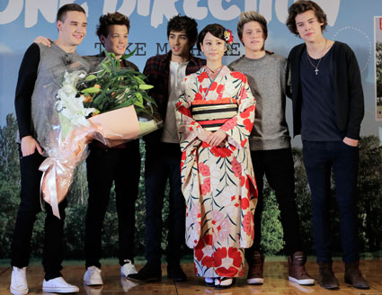 One Direction in Tokyo