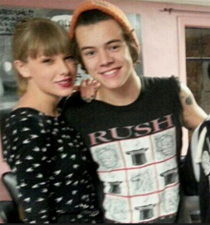 Taylor Swift and Harry Styles back together