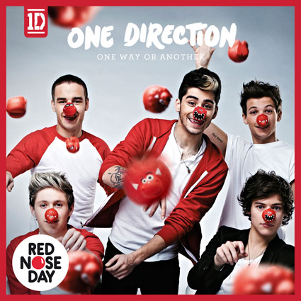 one direction comic relief single