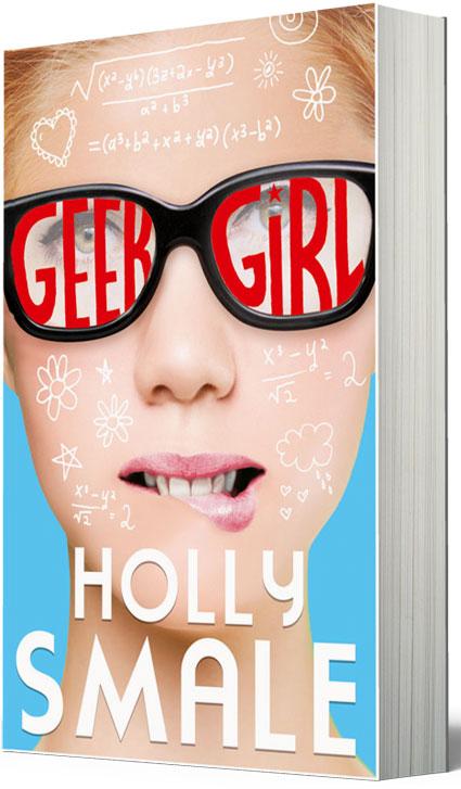 geek girl packshot
