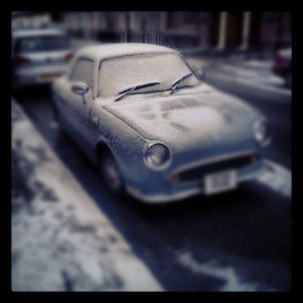 caroline flack's car