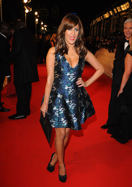 caroline flack dress national television awards ntas