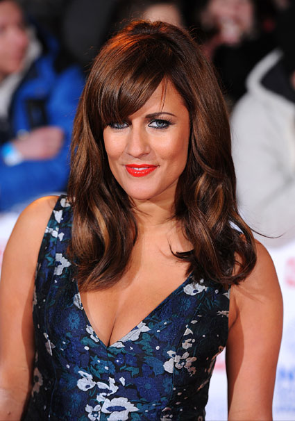 caroline flack national television awards 2013