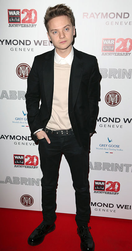 conor maynard brits dinner