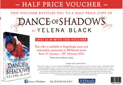 dance of shadows voucher