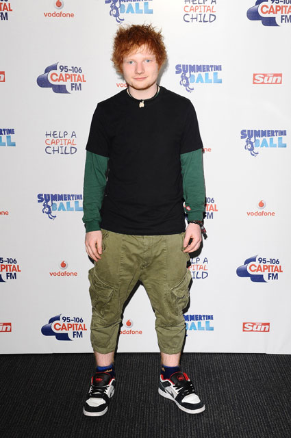 ed sheeran worst dressed