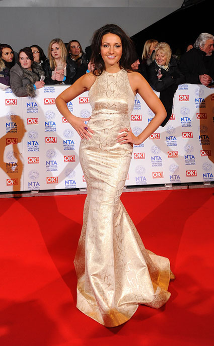 michelle keegan national television awards 2013
