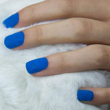 mua fur effect nails