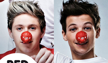 niall horan and louis tomlinson one direction comic relief