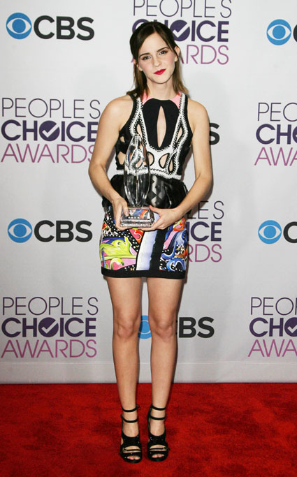 emma watson peoples choice awards