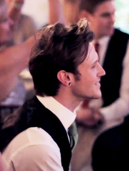 tom fletcher wedding video dougie