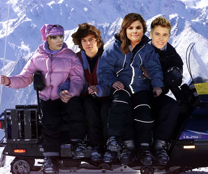 harry styles taylor swift ski trip