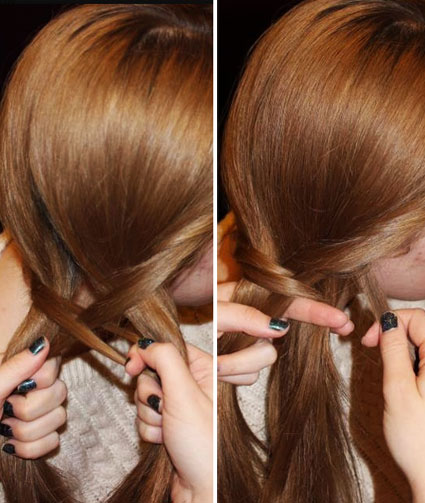 get the perfect fishtail plait like taylor swift and cher