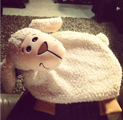 ellie goulding hot water bottle
