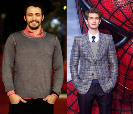 james franco the amazing spider man