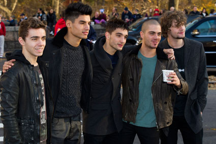 The Wanted consider pub brawl with One Direction over the Jonas Brothers comparison